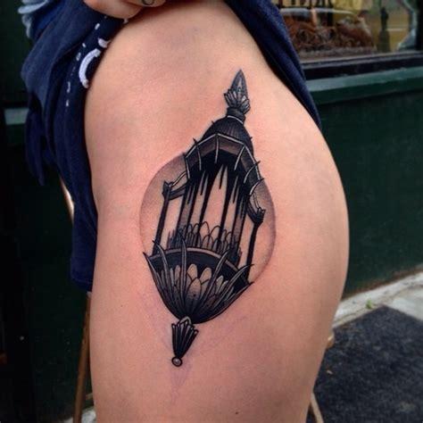 black lantern tattoo black lantern on the hip tattoogrid net