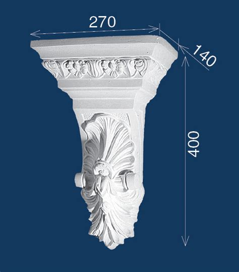 Decorative Plaster Corbels by Bailey Interiors Federation Plaster Corbels