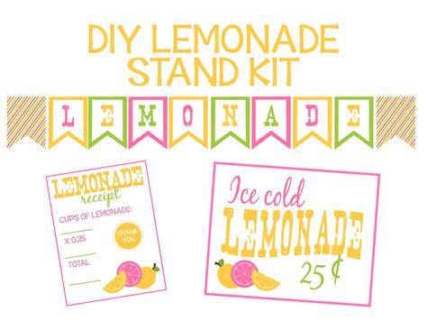 printable lemonade recipes recipes from stephanie lemonade stand printables