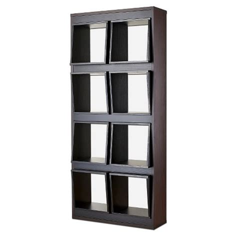 Open Bookcase Room Divider Bauster 8 Cubby Open Bookcase Room Divider Espre Target