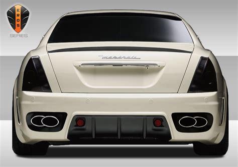 maserati quattroporte kit 2007 maserati quattroporte fiberglass rear bumper