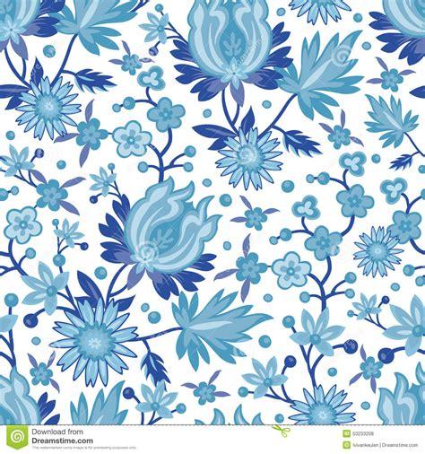 china pattern on blue bloods seamless blue china pattern stock vector image 53233208