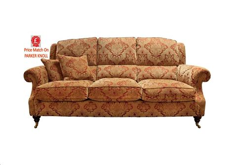 fabric sofas and chairs parker knoll parker knoll oakham 3 seat sofa c fabric