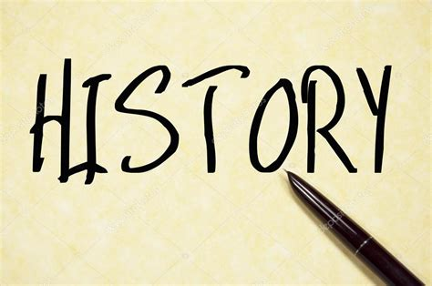 origin of the word history word write on paper stock photo 169 flytosky11 79860492