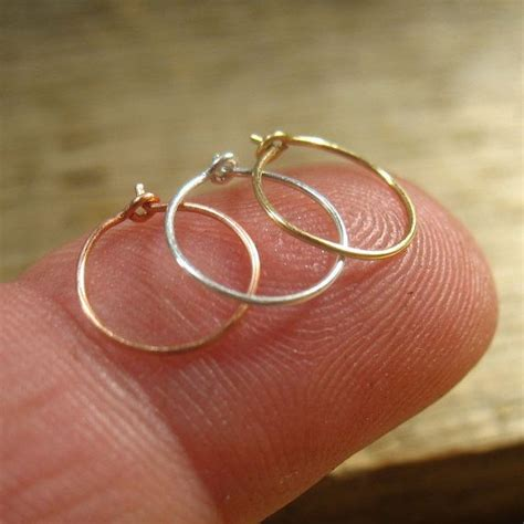 solid nose ring set 26 thin nose rings pink