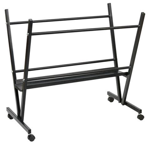 alvin mpr10 steel print rack poster storage bin