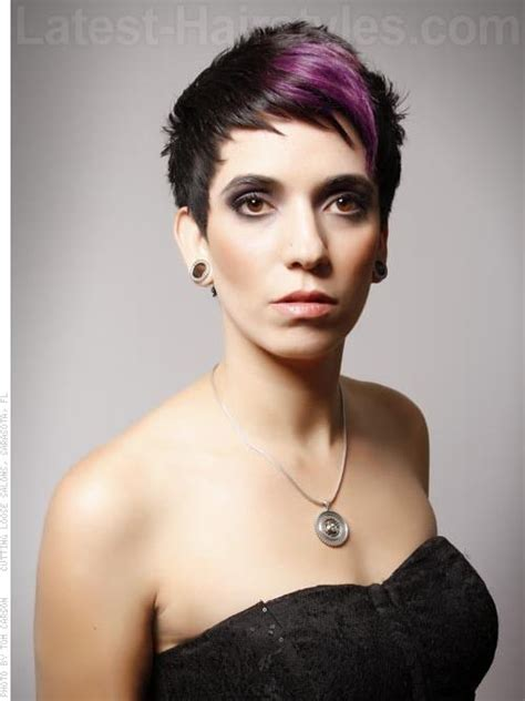 10 super pixie cuts for oval faces pixie cut 2015 love the streak this style is best for wider faces will