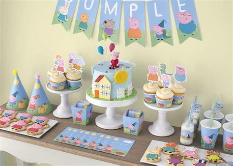 peppa pig fiesta de fiestas infantiles kit gratis de peppa pig pequeocio