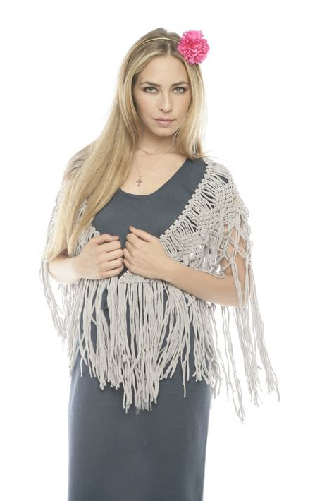 peruvian atelier macrame scarf from dallas fort worth