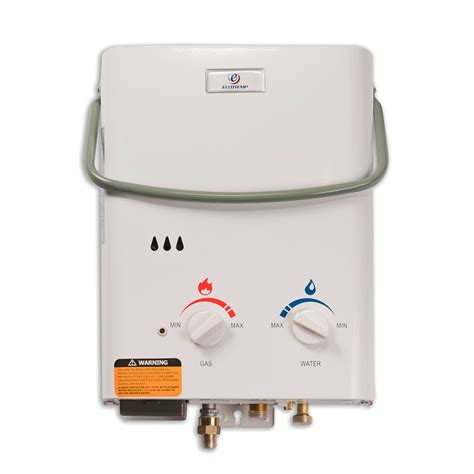 Portable Water 5 L by Eccotemp L5 Portable Tankless Water Heater Eccotemp