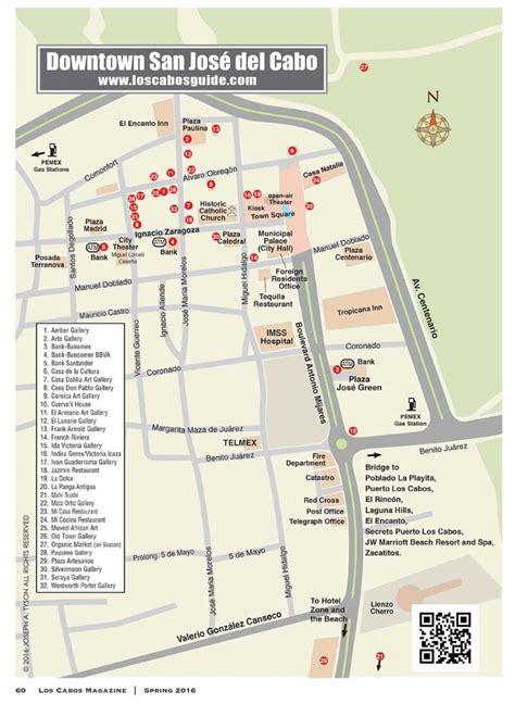 san jose mexico map downtown san jose cabo san jose cabo guide
