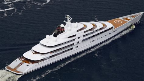 Al Azzam azzam 180m yacht the largest in the world