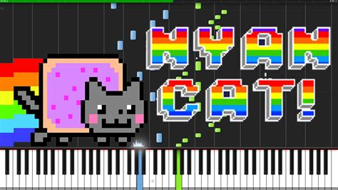 piano tutorial year of the cat nyan cat piano tutorial synthesia youtube