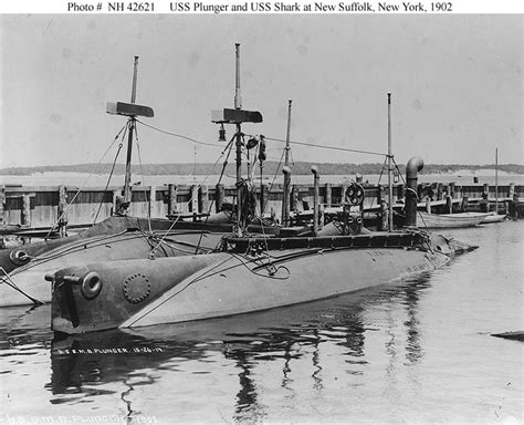 electric boat new york usn ships uss plunger submarine 2