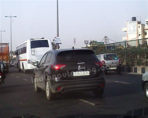 is mazda a foreign car scoop mazda cx 5 testing in gurgaon india