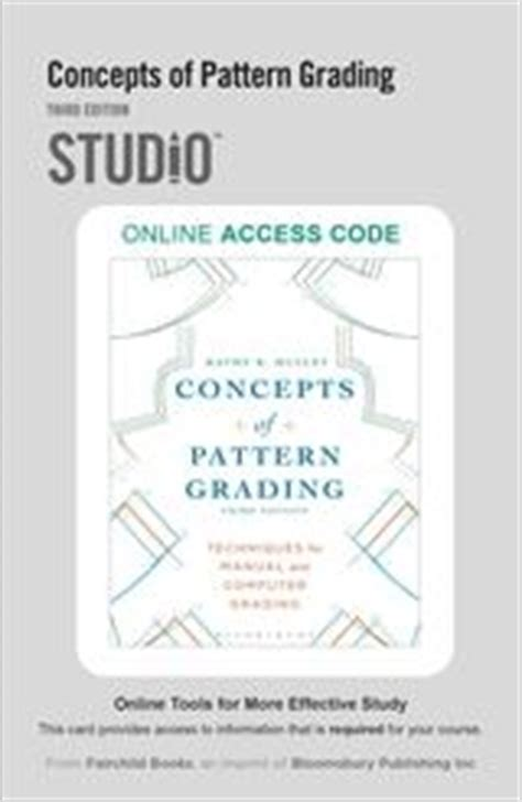 concepts of pattern grading download the business of fashion designing manufacturing and