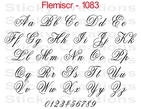 How To Design A Custom Font Letter R 1083 custom fancy script lettering customized vehicle
