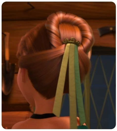 anna from frozen hairstyle frozen anna s coronation hairstyle hair make beauty