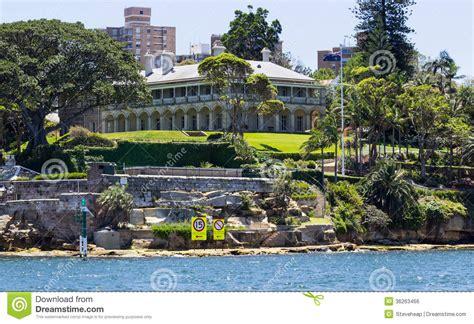 Italianate House Plans admiralty house kirribilli point sydney stock photo