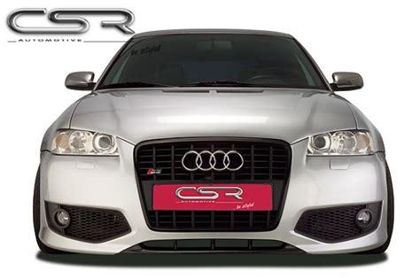 Audi S3 8l Spoiler by S3 Single Frame Front Bumper Spoiler For Audi S3 8l