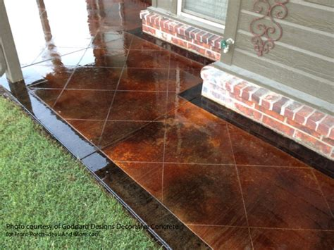 Outdoor Floor Covering Painted Concrete Patio Floor Ideas Home Citizen