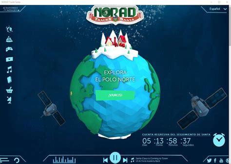 tracking santa on norad norad tracks santa seguir a pap 225 noel y saber m 225 s sobre