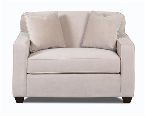 klaussner sofa bed klaussner gillis dreamquest chair sleeper value city