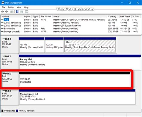 windows 10 disk management tutorial remove drive from storage pool for storage spaces in