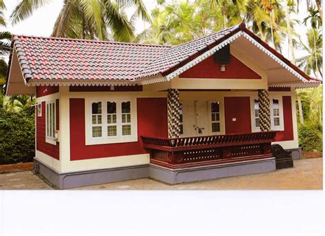 Home Design 900 Square by 900 Square Feet 2bhk Kerala Low Budget Home Design For 10