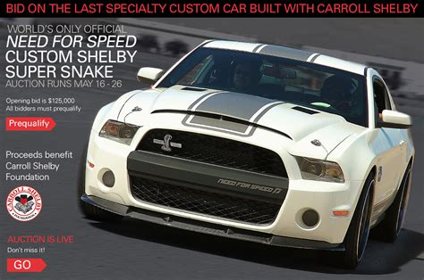 last car made last car built with carroll shelby finally going up for