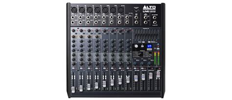 Mixer Alto Live 1202 live1202 alto live1202 12 channel usb mixer with dsp effects at www djstore