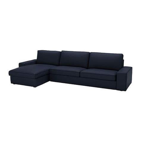 kivik sofa and chaise lounge kivik sofa and chaise lounge dansbo gray
