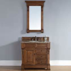 Sink Vanity Country Brookfield Country Oak Single Cabinet Vanity Traditional