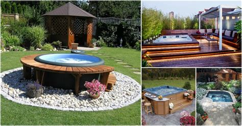 jacuzzi backyard amazing outdoor jacuzzi ideas that will leave you