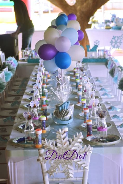 themed party supplies johannesburg kara s party ideas dining tablescape from a frozen 1st