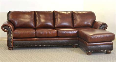 right arm sofa left arm chaise milano sofa the leather sofa company