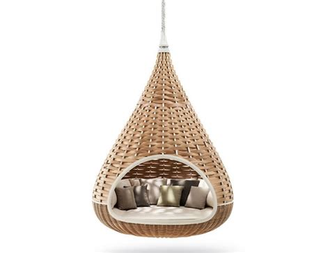 unique and cosy hanging lounger design ideas for outdoor