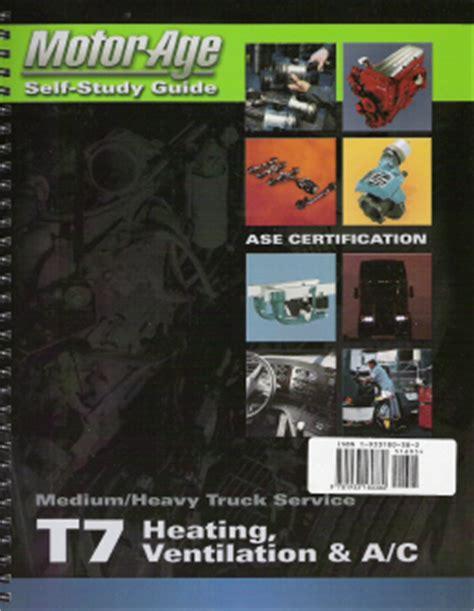 Ase T7 Medium Heavy Duty Truck Heating Ventilation And