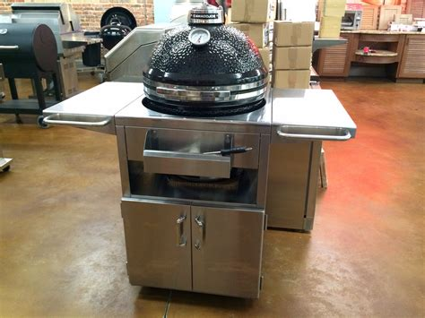 kamado joe stainless steel table fireside s favorite things kamado joe grill deal