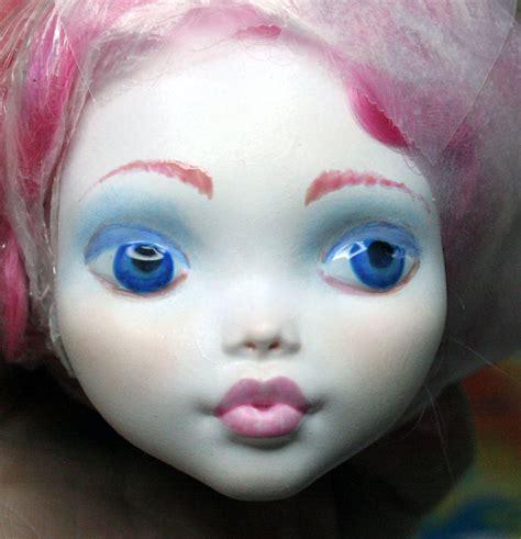 painting doll mymonstercrush custom high doll painting