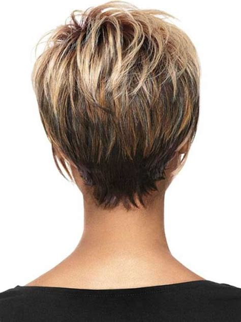 over 50 short hairstyle front and back views short hairstyles for women over 50 back view