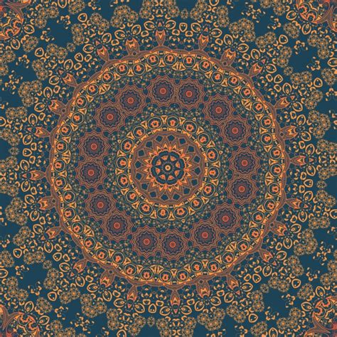 arabesque pattern ai vector ornamental round lace with damask and arabesque