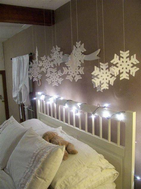 cute  creative christmas bedroom decor