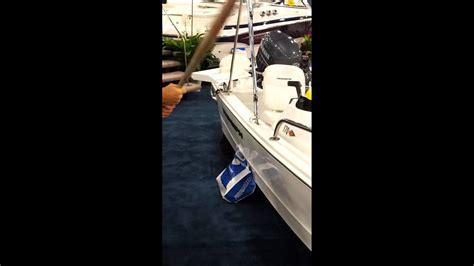 triumph boats youtube triumph boat quot bat test quot at miami boat show youtube