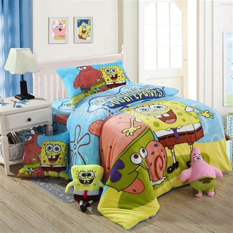 Bedcover Set Spongebob 3d compare prices on spongebob bedding shopping buy low price spongebob bedding