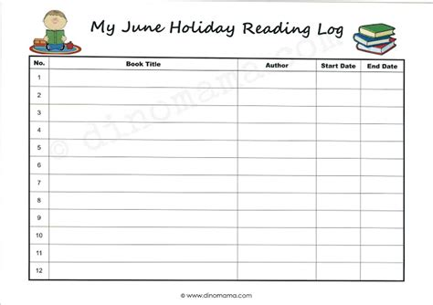 28 homework log template homework log on pinterest