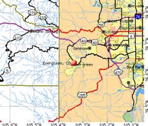 evergreen colorado map evergreen colorado co 80439 profile population maps