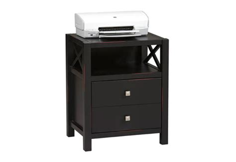 Printer Table With Drawers by Collection 2 Drawer End Table Printer Stand