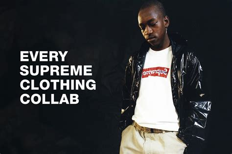 supreme clothing brand every clothing brand supreme has collaborated with news