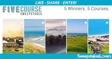 Golf Equipment Sweepstakes - golfadvisor com fivecourse golf advisor five course sweepstakes